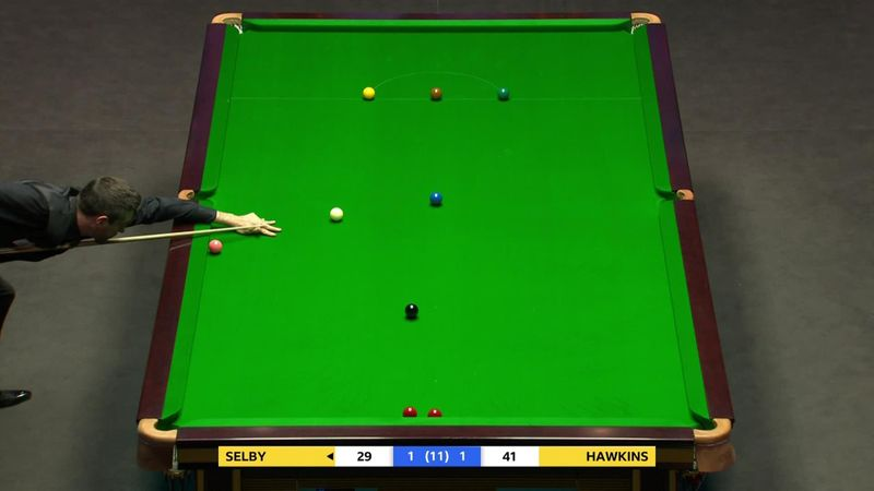 'What a shot!' - Selby's brilliant positional shot off the blue