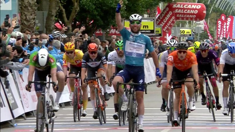 Tour of Turkey Stage 4 highlights - Cavendish completes memorable hat-trick