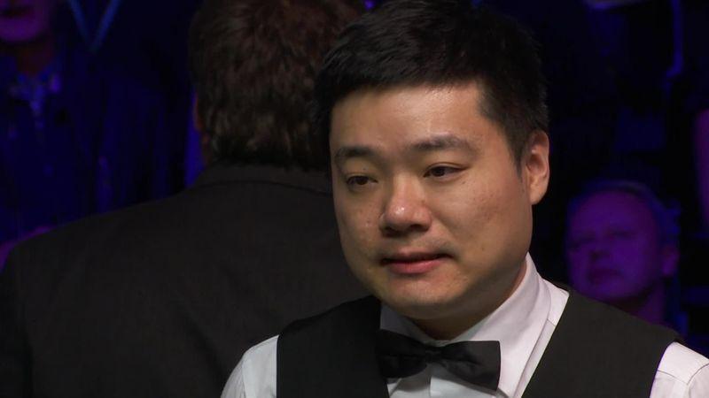 UK Championship:  Final - Interview Ding