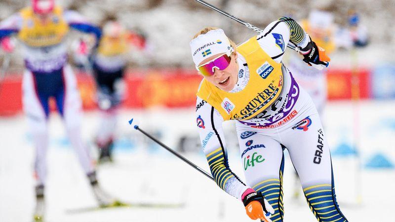 Svensk dubbel i Lillehammer - Sundling spurtade ned Nilsson