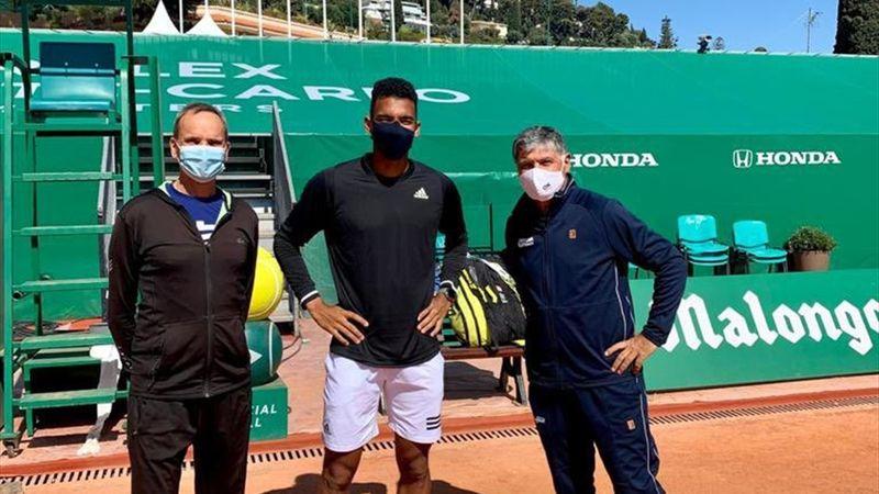 """Auger-Aliassime : """"Pourquoi Toni Nadal ? Difficile de trouver mieux"""""""