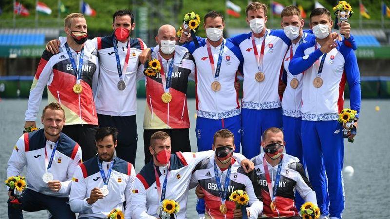 Men's Kayak Four 500m Final - Tokio 2020 - Momentos destacados de los Juegos Olímpicos