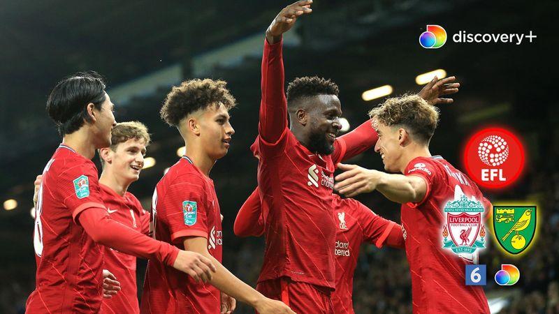 The Reds har sikret overtaget! Origi fordobler Liverpool-føring efter flot forarbejde af Tsimikas