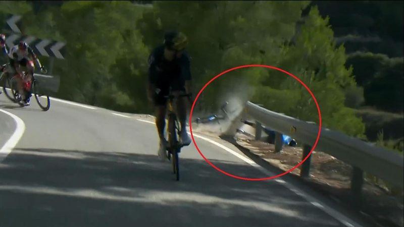 El vídeo definitivo que reconstruye la caída de Valverde: evitó una desgracia mucho mayor