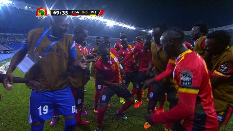 Miya scores belting, and historic goal, for Uganda