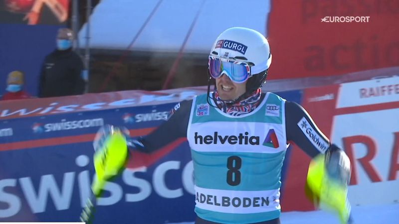 'A brilliant performance!' - Ryding takes rare podium in Adelboden