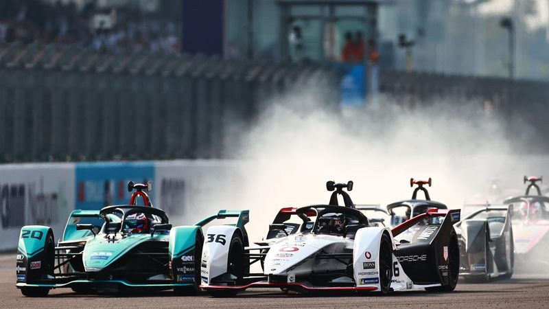 Formula E Mexico   Dominante verwinning Mitch Evans