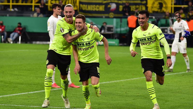 VÍDEO | B. Dortmund-Ingolstadt: Doblete de Hazard para meterse en octavos (2-0)