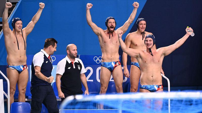 Waterpolo (H) | Final, Grecia-Serbia: El oro sabe igual a pesar del susto (10-13)