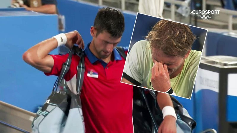 Zverev in floods of tears after stunning Djokovic to reach Olympic final
