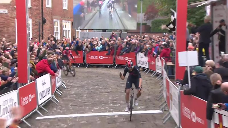 Watch the British National Championships finish as Swift claims memorable win