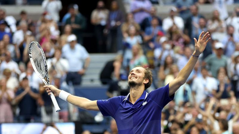 US Open   Superieure Medvedev ontzegt Djokovic Calendar Slam