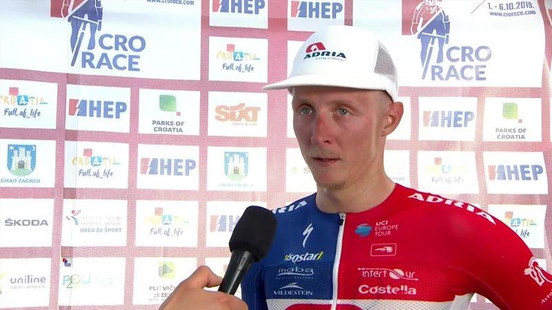 Tour of Croatia: Stage 1 - Interview winner Marko Kump
