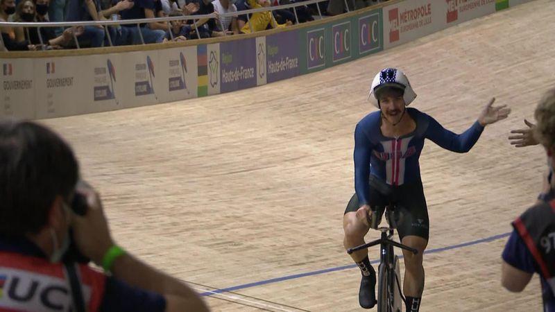 Lambie caps brilliant season with gold in Men's Individual Pursuit