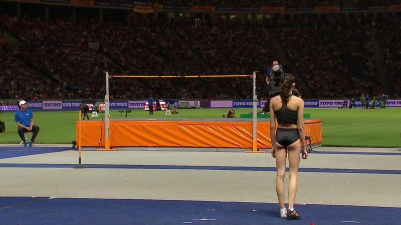 Золотой прыжок Ласицкене, которая впервые выиграла чемпионат Европы