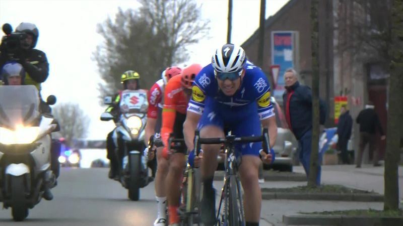Se avslutningen på Omloop Het Nieuwsblad