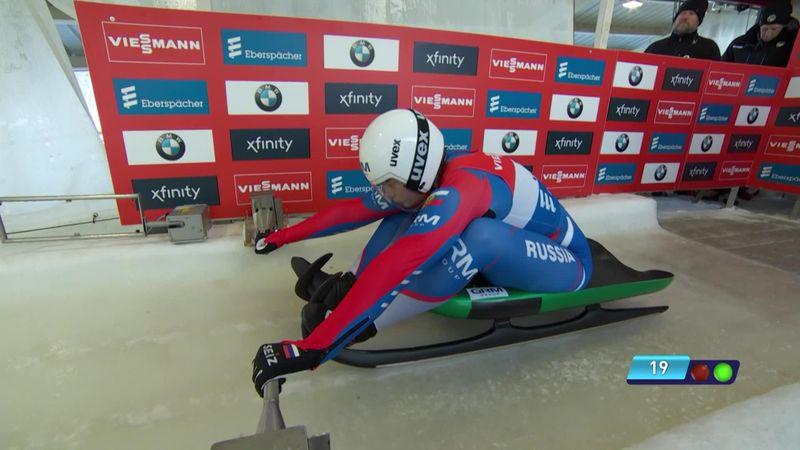 Rodelen | Demchenko over twee runs het snelste bij de vrouwen