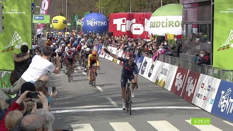 Ronde van de Alpen | Gianni Moscon pakt openingsetappe