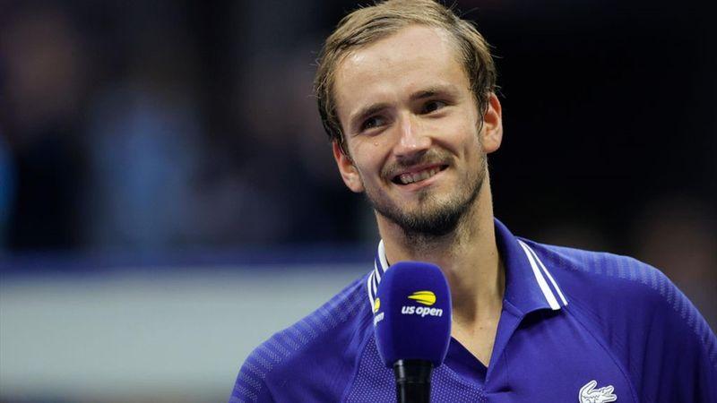 US Open   Medvedev: 'Djokovic is de beste speler aller tijden'