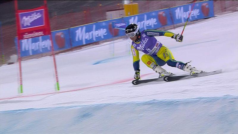 Matts Olsson gana el eslalon paralelo de Alta Badias Olsson