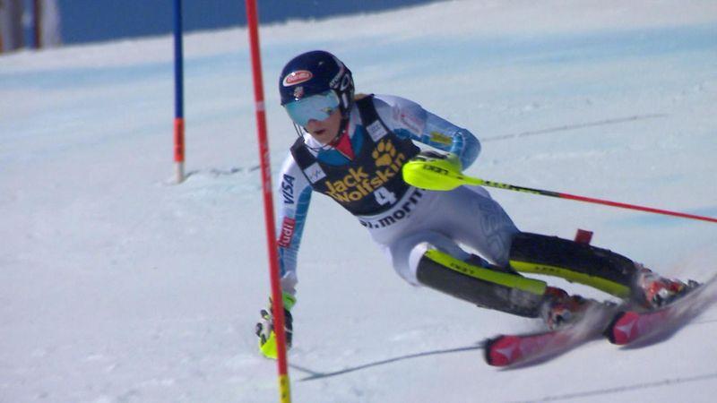Mikaela Shiffrin logra su quinta victoria de la temporada