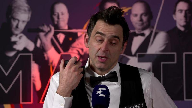 The Masters: Ronnie O'Sullivan John Higgins mağlubiyeti sonrası konuştu