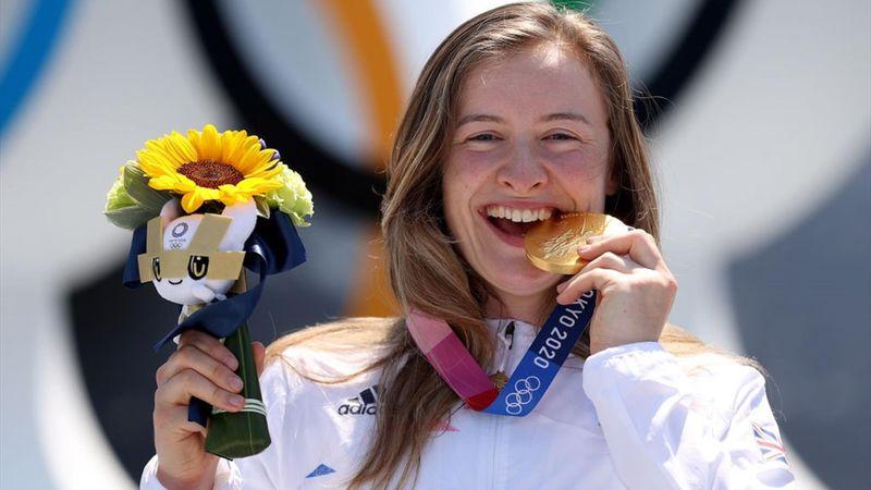 Women's BMX freestyle final, Charlotte Worthington (GBR) tittle - Tokyo 2020 - Olympic Highlights