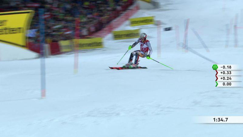 Schladming | Hoogtepunten 2e run THE Nightrace slalom