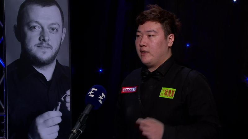 'I didn't give up' - Yan joins Eurosport studio after winning title