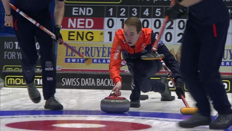 EK Curling   Nederlandse mannen pakken hun eerste overwinning op dit EK