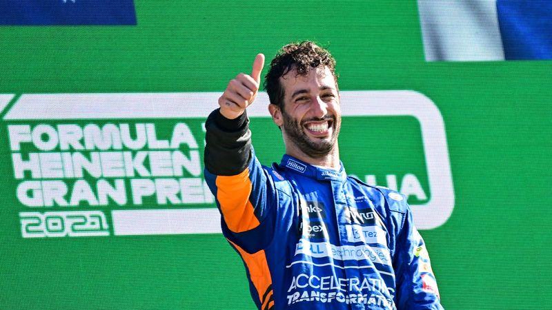Resumen GP de Monza: Un escalofriante accidente facilita la victoria a Ricciardo