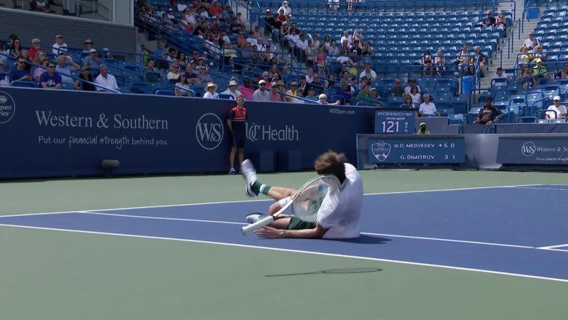 ATP Cincinnati | Medvedev a căzut la meciul cu Dimitrov
