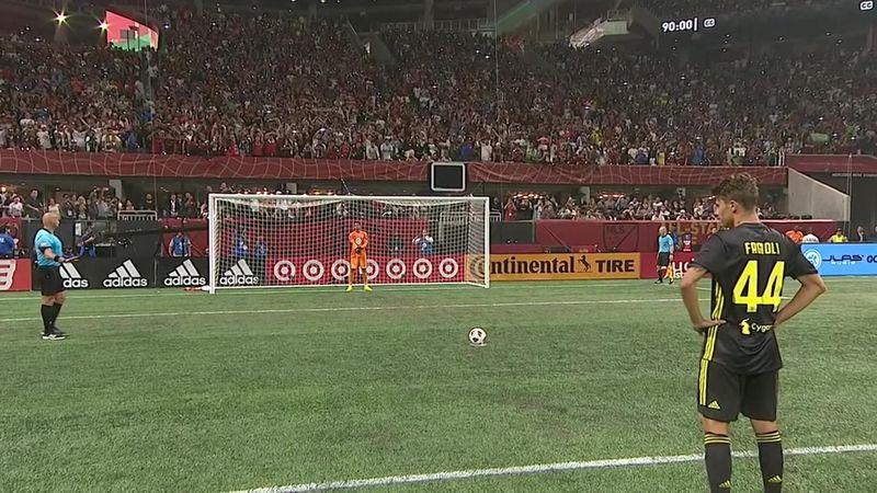 «Ювентус» и сборная MLS спокойно забивали с пенальти, пока не пришел Райт-Филлипс
