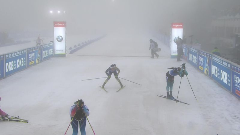 Oberhof:  7.5 km Women - Finish Simon
