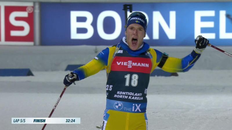 Samuelsson culmina una gran remontada y triunfa en Kontiolahti