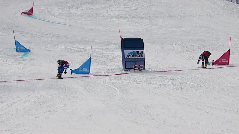 Snowboard, Copa del Mundo: ¡Más igualdad imposible! Karl vence a Felicetti por la 'foto finish'