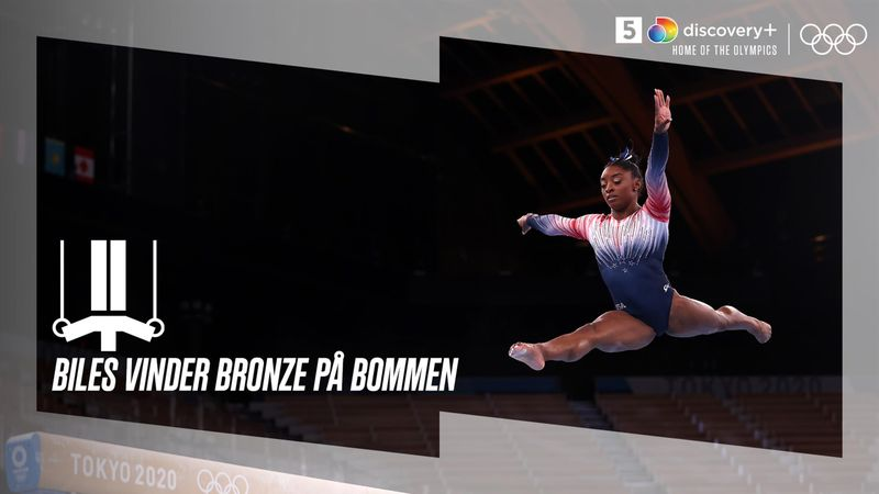 Simone Biles gør comeback og vinder bronze på bommen