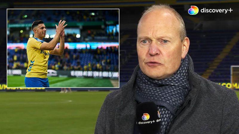 Han er en rigtig dygtig spiller: Niels Frederiksen er glad for at have Blas Riveros tilbage