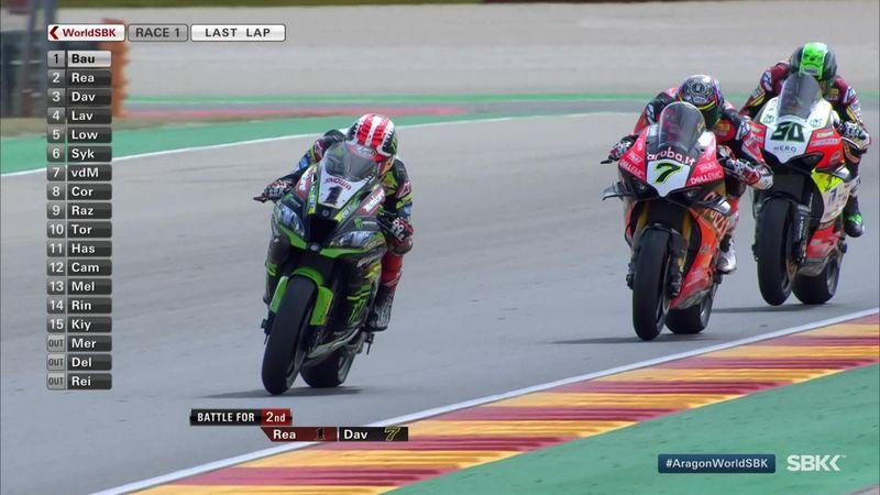 WorldSBK Aragon: finish race 1