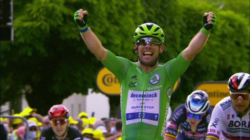 Se Cavendish ta sin 32. seier i Tour de France