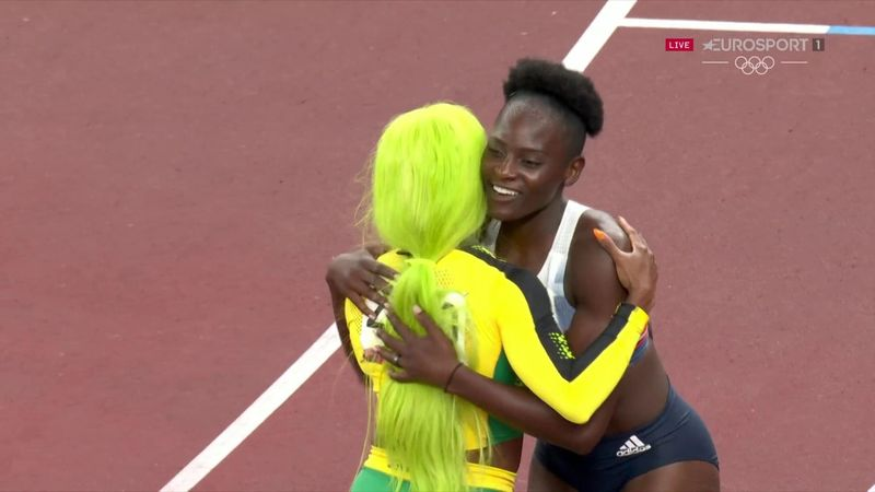 'Tremendous' - Jamaica's women storm to 4x100m glory, Britain settle for bronze
