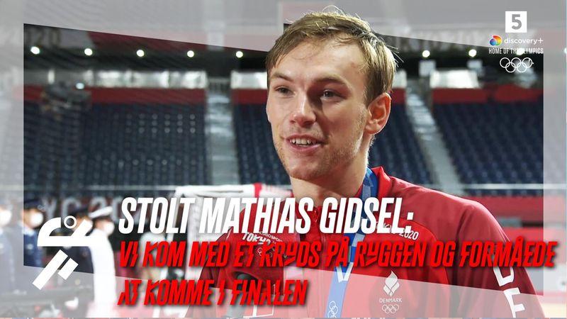 Mathias Gidsel bærer sølvmedaljen med stolthed: Vi havde et kryds på ryggen og kom i finalen