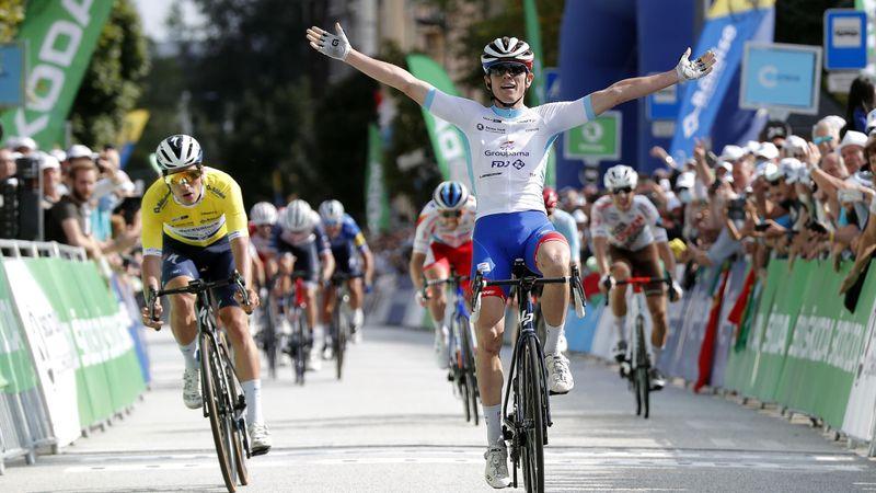 Cosnefroy, Latour ont attaqué mais c'est Gaudu qui s'impose sur la 5e étape du Tour du Luxembourg