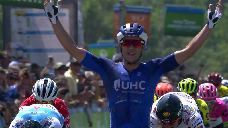 Tour de Utah: McCabe vuela y se lleva la victoria al esprint en la primera etapa