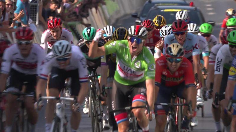 Vuelta a Alemania 2019 (2ª etapa): Alexander Kristoff vence en una nueva exhibición de Evenepoel