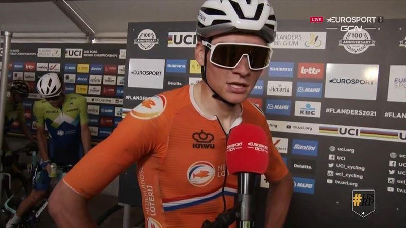 """Van der Poel : """"J'aurais aimé être en meilleure forme"""""""