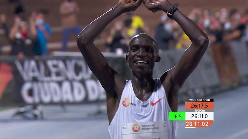 Чептегеи обновил мировой рекорд в беге на 10 000 метров