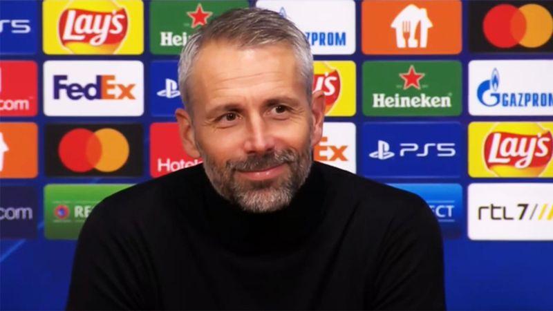 """""""Scheiße!"""" BVB-Coach Rose bringt Journalisten zum Lachen"""