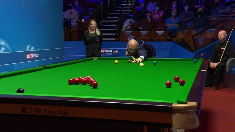 'Brilliant shot' - Bingham drains stunning long red