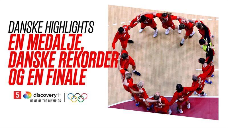Dansker-highlights: En medalje mere, nye rekorder og en finaleplads